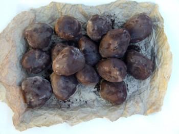 truffled truffles in a basket
