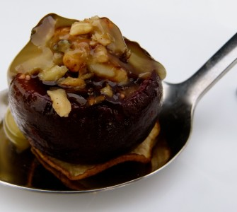 Roasted Stuffed Figs
