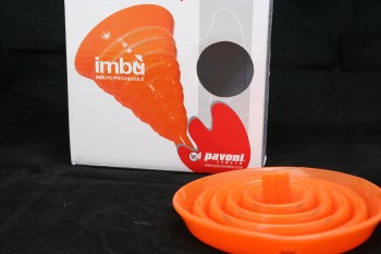 silicone collapsable funnel