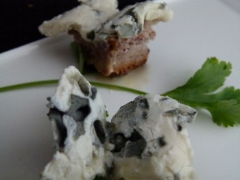 Blue Cheese Butterflies