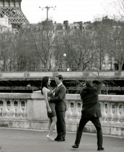 Paris Wedding Couple- Chef Morgan