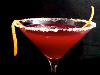 Blood Orangetini Or Blood Orange Martini