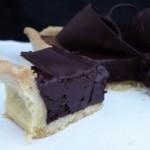 """carrés de chocolat (""""box of chocolate"""") tart  (February 11, 2012)"""