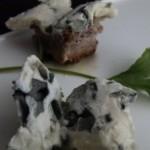 papillons au Roquefort (blue cheese butterflies)
