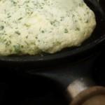 souffléd herb and chèvre omelette (December 1, 2011)