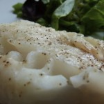 cabillaud au thym en papillote (steamed cod with thyme)  (July 25th, 2012)