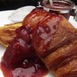 pain perdu with strawberry jam (5/19/2011)