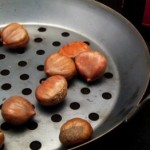 Marrons Chard roasted chestnuts