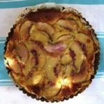 peach and tarragon clafoutis (clafouti aux pêches et estragon) (August 20th, 2012)
