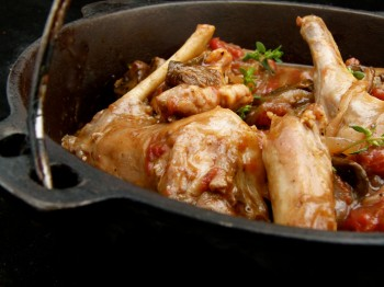 Hunger games food - Katniss's rabbit (or chicken) chasseur