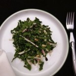 kale and turnip slaw with mustard seed dressing (April 15, 2012)