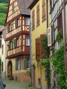 Houses in Alsace France