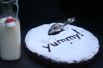'Yummy dessert with milk by Chef Morgan