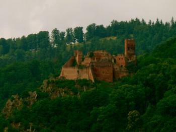 Hilltop in Alsace France