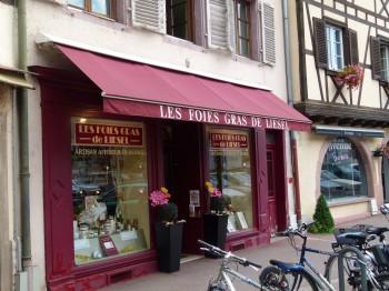 Foie gras store front
