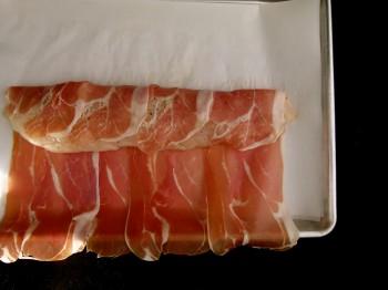 monkfish and prosciutto