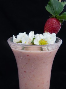 rice and coconut milk smoothie by Chef Morgan