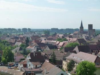 Alsace  City view
