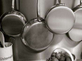 Cookware in Kitchen