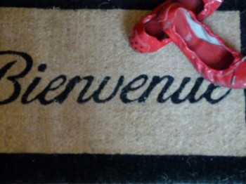 Bienvenue French Doormat