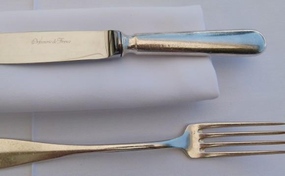 Chef Morgan Gordes silver