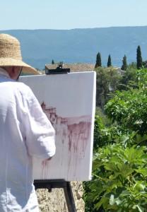 Chef Morgan Gordes Painter