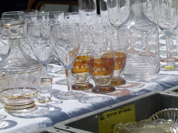 antique glass sorgue