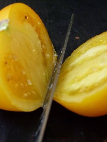heirloom tomatoes  cut