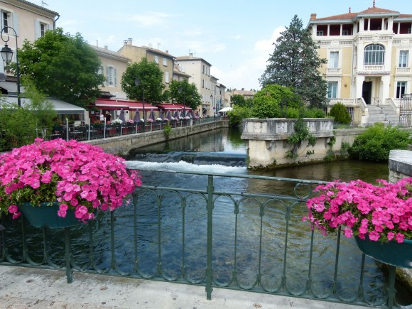 treasures on the river Sorgue