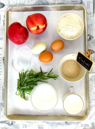 chef morgans batter ingredients clafoutis