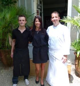 Morgan, Chef Morgan and Chef Jeremi Fontin