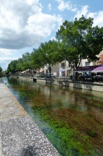 L'Isle-sur-la-Sorgue canal