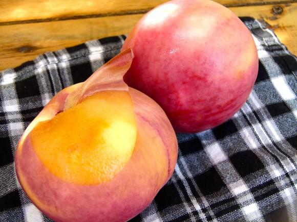 summer peaches chef morgan