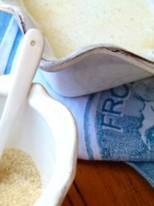 Chef morgan's sugar and flour