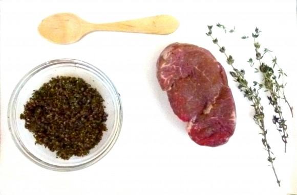 steak au poivre vert ingrediants