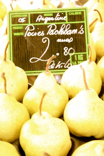 chef morgan french pears