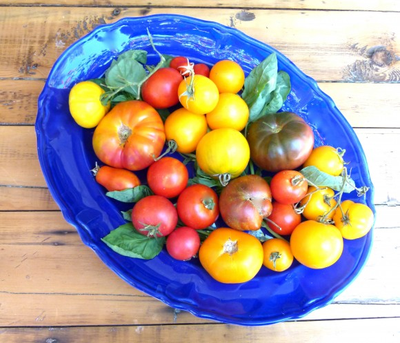 Heirloom tomatoes chef morgan teaches at Surfas culver city