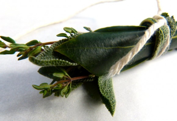bouquet garni for fish stock