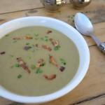 lentil and Brie soup