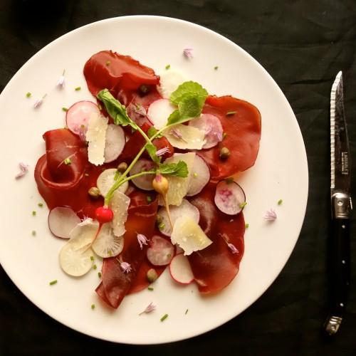 chef morgan bresaola radish 2