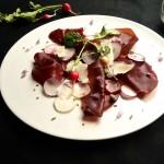 bresaola and radish summer salad June 13th, 2013