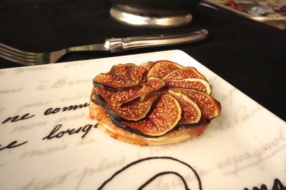 chef morgan fig tartlet