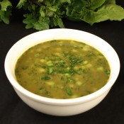 green vegetable and lentil soup January 13th, 2014