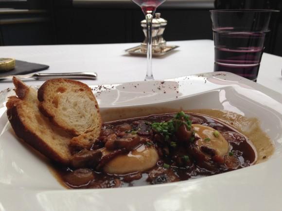 chef morgan a table Dijon