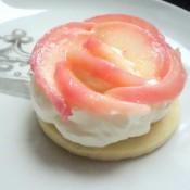 summer peach tart